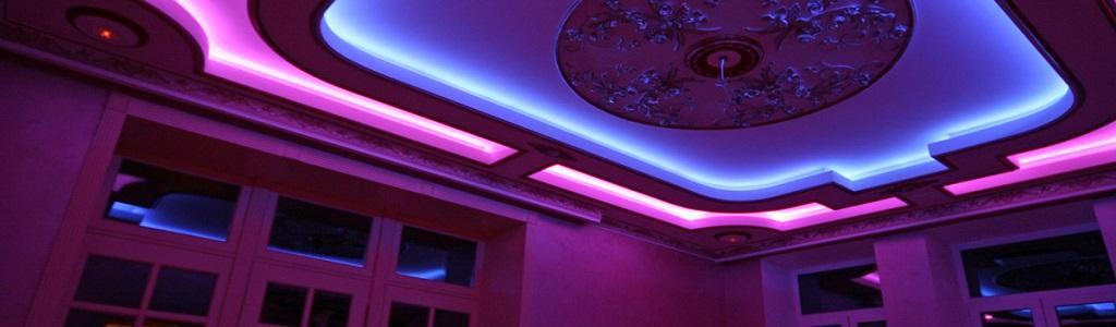 Освещение LED-лентами для квартиры
